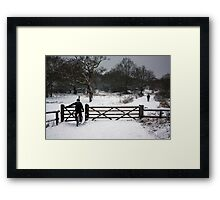 into god's canvas Framed Print