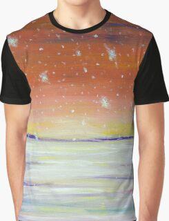 Snowscape Graphic T-Shirt
