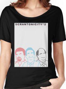 The Office: Scrantonicity 2 Band Shirt Women's Relaxed Fit T-Shirt