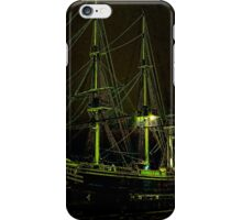 Ghost Ship and The Super Moon iPhone Case/Skin
