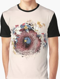 Nesting - Another Bird Has Found It's Nest Graphic T-Shirt