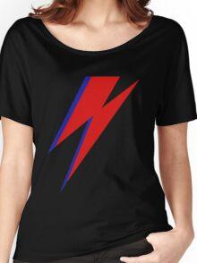 DAVID BOWIE LIGHTENING Women's Relaxed Fit T-Shirt