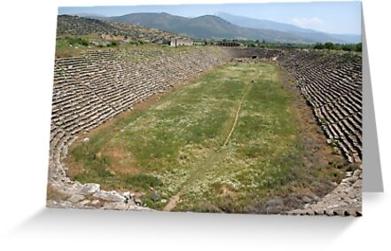 Track and Field - Stadium Aphrodisias Turkey by taiche