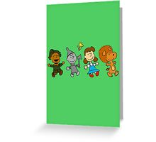 The Wizard of Oz - Snoopy Greeting Card