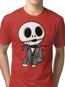 Chibi Jack Skellington Tri-blend T-Shirt