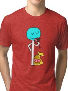 Funny Lolipop Tri-blend T-Shirt
