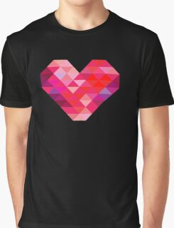 Prism Heart Graphic T-Shirt