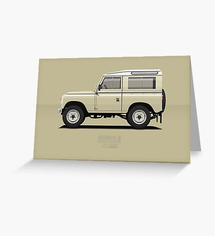 Series 3 Station Wagon 88 Limestone Greeting Card