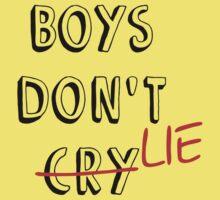 Boys don't lie One Piece - Short Sleeve