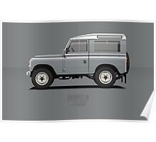 Series 3 Station Wagon 88 Mid Grey Poster