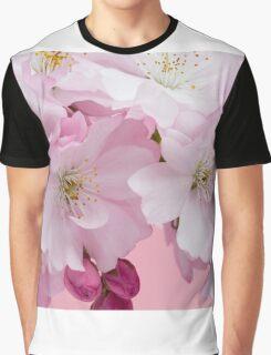 Pink Cherry Blossom  Graphic T-Shirt