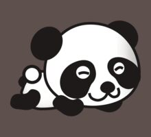 Cute Cartoon Baby Panda Kids Tee