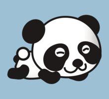 Cute Cartoon Baby Panda Kids Tee