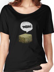 Warren Schrodinger's cat vintage Women's Relaxed Fit T-Shirt