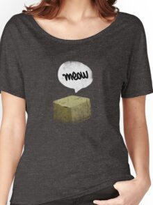 Warren Schrodinger's cat vintage Women's Relaxed Fit T-Shirt