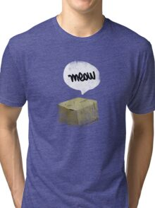 Warren Schrodinger's cat vintage Tri-blend T-Shirt