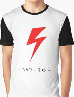 David Bowie: 1947 - 2016 Graphic T-Shirt