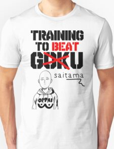 Training To Beat Saitama T-Shirt