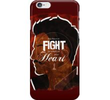 Dorian - Fight For What's In You Heart iPhone Case/Skin
