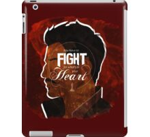Dorian - Fight For What's In You Heart iPad Case/Skin