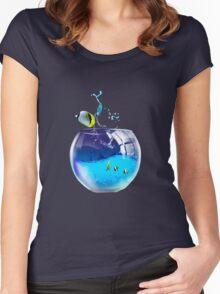 aquarium Women's Fitted Scoop T-Shirt