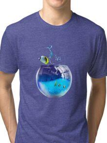 aquarium Tri-blend T-Shirt