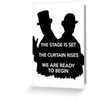Sherlock  the abominable bride Greeting Card