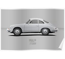 356b Silver Poster