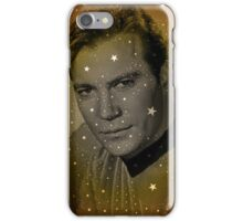 William Shatner as Captain Kirk iPhone Case/Skin