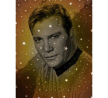 William Shatner as Captain Kirk Photographic Print