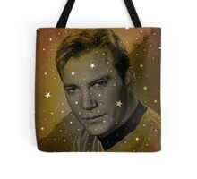 William Shatner as Captain Kirk Tote Bag