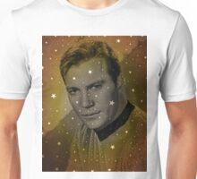 William Shatner as Captain Kirk Unisex T-Shirt