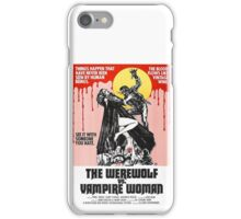 The Werewolf vs. Vampire Woman iPhone Case/Skin