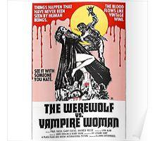 The Werewolf vs. Vampire Woman Poster