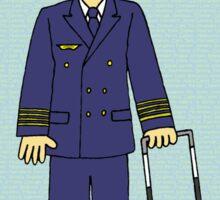 Congratulations you're a pilot. Sticker