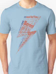 David Bowie lighting tracks T-Shirt