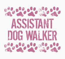 Assistant Dog Walker Baby Tee