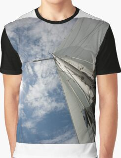 Sail and Mast Graphic T-Shirt
