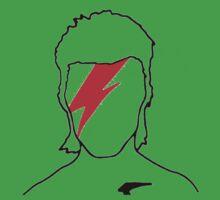 David Bowie - Aladdin Sane One Piece - Short Sleeve