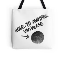 Hole to another Universe vintage Tote Bag