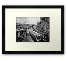 Camden Lock London Framed Print