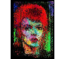 A  Tribute to David Bowie Photographic Print