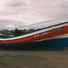 Coble Amble Harbour by Woodie