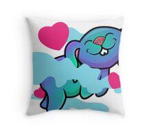 Love Bunny Throw Pillow