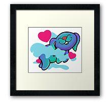 Love Bunny Framed Print