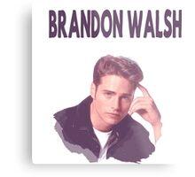 90210- bRANDON wALSH Metal Print