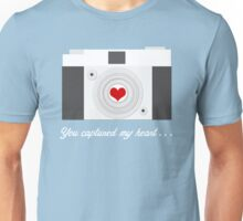 You Captured My Heart Unisex T-Shirt