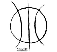 Basketball Symbol Photographic Print