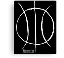 Basketball Symbol WoB Canvas Print