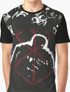 Berserk - Guts - Sacrifice BLACK Graphic T-Shirt